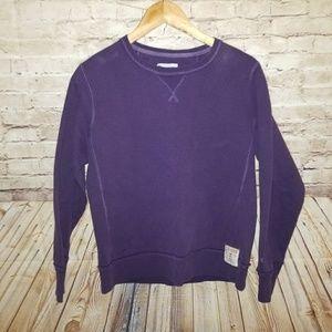 CHAMPION Purple Pullover Sweatshirt Medium